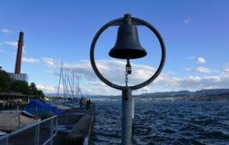 Lac Zurich Kuesnacht Images libres de droits