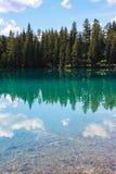 Laca Beauvert, parque nacional de jaspe Foto de archivo