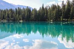 Laca Beauvert, parque nacional de jaspe Imagen de archivo