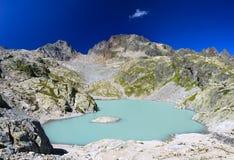Laca Blanc de Chamonix Fotos de Stock Royalty Free
