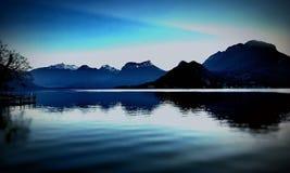Laca Bleue Fotografía de archivo
