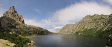 Laca de Melo, Córcega, Francia Imagenes de archivo