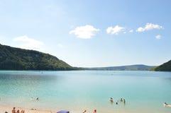 Laca du Chalain foto de stock royalty free