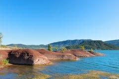 Laca du Salagou em França Imagem de Stock Royalty Free