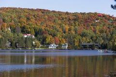 Laca-Superieur, Mont-tremblant, Quebec, Canadá Foto de archivo libre de regalías