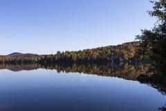 Laca-Superieur, Mont-tremblant, Quebec, Canadá Fotos de archivo