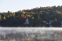 Laca-Superieur, Mont-tremblant, Quebeque, Canadá Foto de Stock