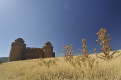 LaCalahorra slott Fotografering för Bildbyråer