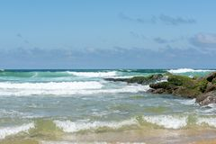 Lacanau, Атлантический океан, Франция Стоковое Фото