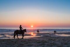 Lacanau, Francia, costa atlantica Fotografia Stock Libera da Diritti