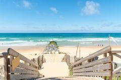 Lacanau, l'Oceano Atlantico, Francia Fotografia Stock Libera da Diritti