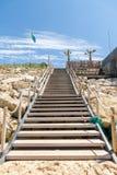 Lacanau, l'Oceano Atlantico, Francia Immagine Stock Libera da Diritti