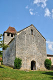 Lacapelle Biron, Saint Avit church in Lot et Garonne Royalty Free Stock Photos