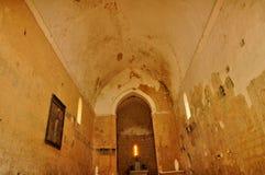 Lacapelle Biron, Saint Avit church in Lot et Garonne Royalty Free Stock Images