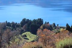 Lacar湖 库存照片