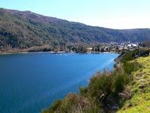 lacar lake Fotografering för Bildbyråer
