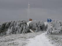 Lacauti-Spitze 1777 m Stockfotos