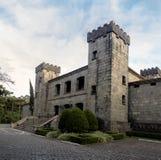 Lacave slottvinodling och restaurang - Caxias gör Sul, Rio Grande do Sul, Brasilien Fotografering för Bildbyråer