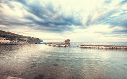 Lacco Ameno ,  Ischia island in Italy Royalty Free Stock Images