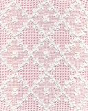 Lace. Handmade white lace with pink background. This image is very fine also horizontally rotated stock photos