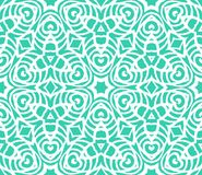 Lace art deco pattern with overlapping shapes Stock Photo