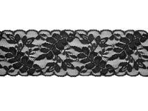 Lace background. Black on white Stock Photos