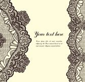 Lace Background Stock Photography