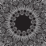 Lace background. Mandala. royalty free illustration