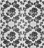 Lace background, ornamental flowers Stock Images