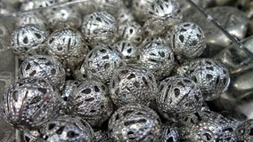 Lace ball bead Royalty Free Stock Photo