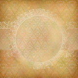 Lace Banner Card Abstract Vintage Background Royalty Free Stock Images