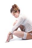 Lace beauty Stock Photo