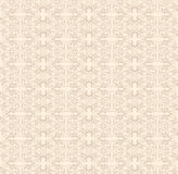 Lace beige pattern. Vector illustration of white and beige lace pattern Royalty Free Stock Images
