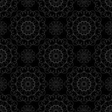 Lace on a black background Stock Images