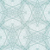 Lace blue seamless pattern. Abstract background, vector EPS10 Stock Photo