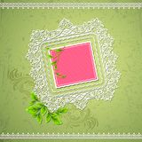 Lace border Royalty Free Stock Photos