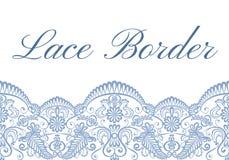 Lace border card Stock Photos