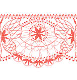 Lace border seamless Royalty Free Stock Photos
