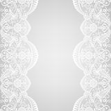 Lace border vector illustration