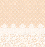 Lace border Royalty Free Stock Image