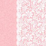 Lace border royalty free illustration