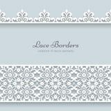 Lace Borders Stock Photo