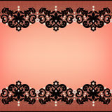 Lace borders Royalty Free Stock Photos
