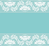 Lace borders Royalty Free Stock Image