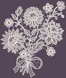 Lace. Bouquet. Royalty Free Stock Photo
