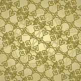Lace brown background Royalty Free Stock Photos