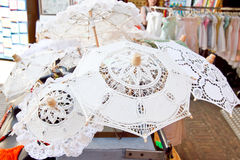 Lace from Burano Royalty Free Stock Photography