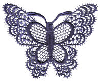 Lace butterfly Royalty Free Stock Photos