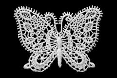 Lace Butterfly Royalty Free Stock Photography