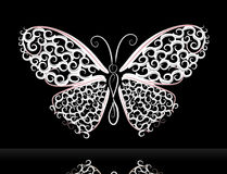 Lace butterfly2 Royalty Free Stock Image